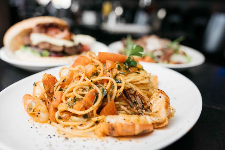 Spaghetti alla Scampi